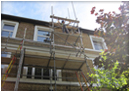 Domestic Scaffolding on house